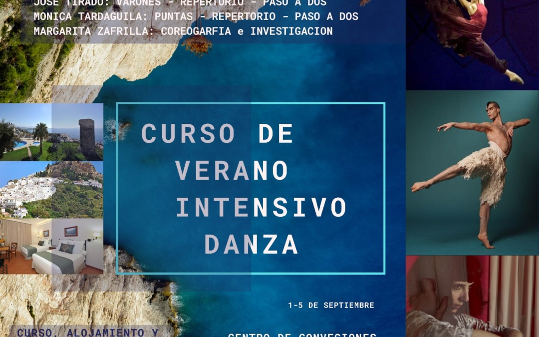 CURSO DE VERANO INTENSIVO DANZA
